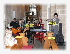 Franziskusfest 2011 der franziskanischen Gruppe Tautropfen in der Stiftskirche in Karden